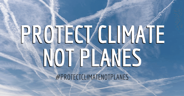Protect climate not planes - Campax - Alliance-Climat