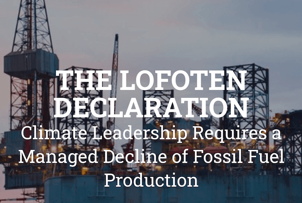 The Lofoten Declaration